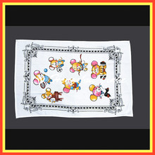 popular lovely cartoon printed thin cotton tea towel