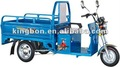 faster smoothly and large loading electric cargo tricycle