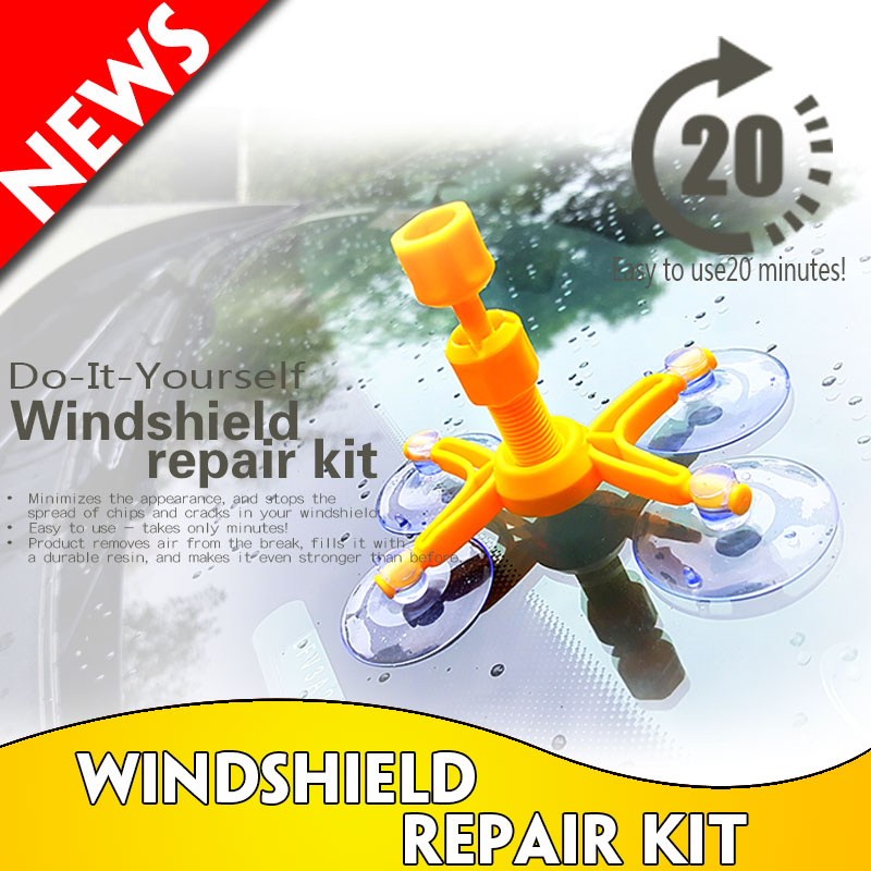 DIY Windscreen repair kit MOQ 96PC/carton AS see on tv wrk15004B