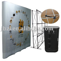 2016 New Trade Show Folding Booth Spring Pop Up Display Stand / Spring Pop Up Display Stand