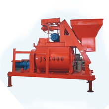 JS1000 ready mix concrete discharging 75m3 per concrete mixer machine for sale