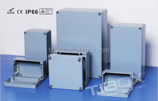 High quality,RoHS,CE,IP66,TUV approved aluminum box aluminum extrusion enclosure