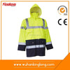 China Supplier Wholesale Worker Uniform High Visibility Waterproof Winter Parka Coats
