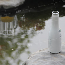 Aluminum empty best flip top beer bottle for baby