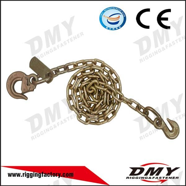 USA Galvanized Welded carbon Steel Hook Chain eye grab hook chain