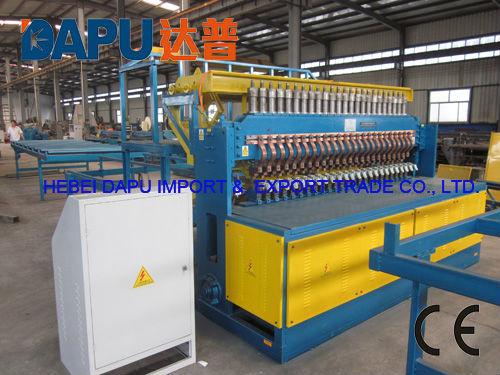Machine souder les treillis d 39 armature en acier du b ton - Machine de fabrication de treillis a souder ...