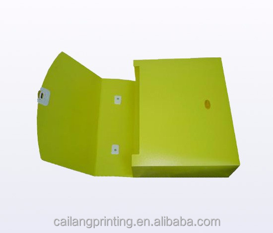 collapsible box high quality fashionable cardboard custom Collapsible jewelry box with pet window manufacturer folding rigid