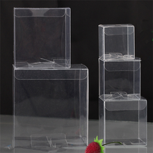 clear storage collapsible business card plastic box