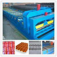 Best selling Most Popular Hydraulic Automatic Color Steel Metal Tile Sheet Roof Steel Glazed Roll