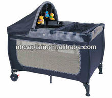 luxury foldable baby playpen for baby crib attached bed