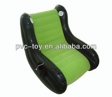 inflatable music sofa with speaker