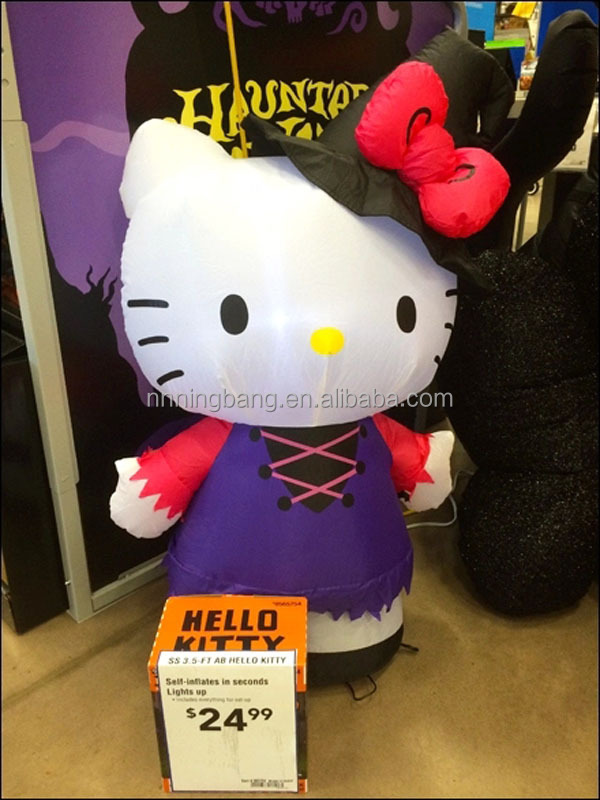 NB giant inflatable hello kitty for event