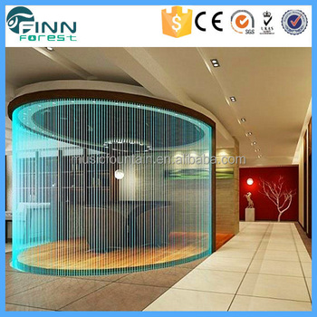 Hotel lobby indoor artificial water curtain home for Ce design hotel