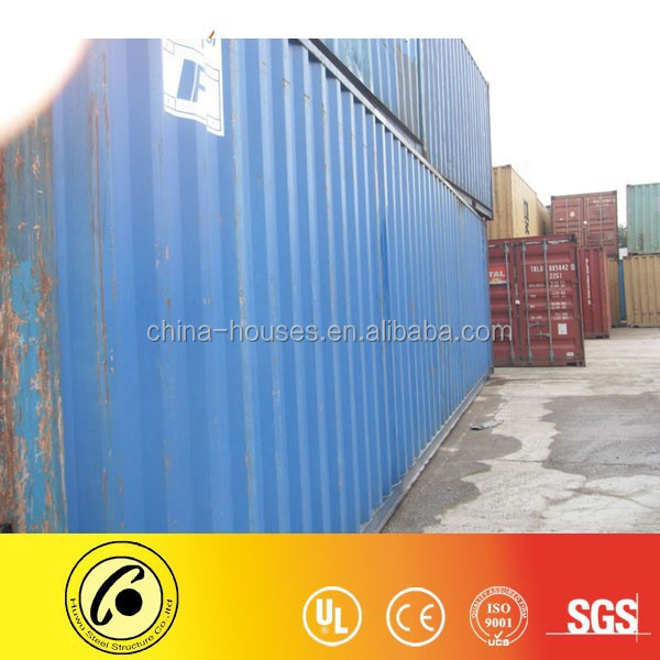 Shanghai 20ft used dry container 40ft new shipping container