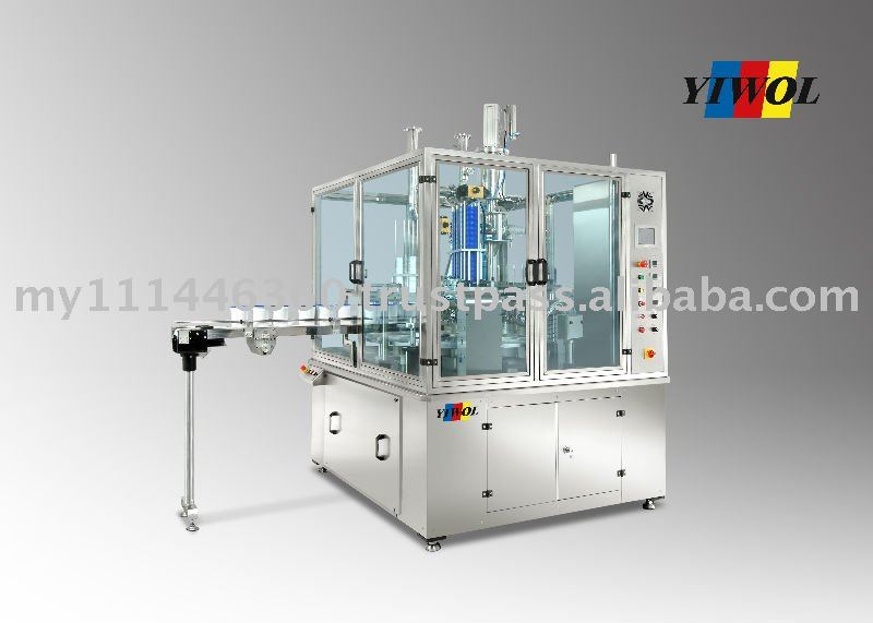 Fully Automatic 3 cavities Continuous Piece Form Filling, Sealing & Lidding System (Rotary Type)