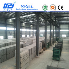 2017Wuhan Rigel eps cement sandwich wall panel mould car of production line