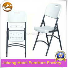 Sunshine Light outdoor Plastic White Folding Restaurant catering Chairs JH-T35