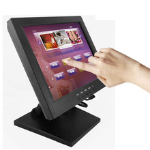Alibaba stock low cost small <strong>10</strong> inch usb touchscreen monitor