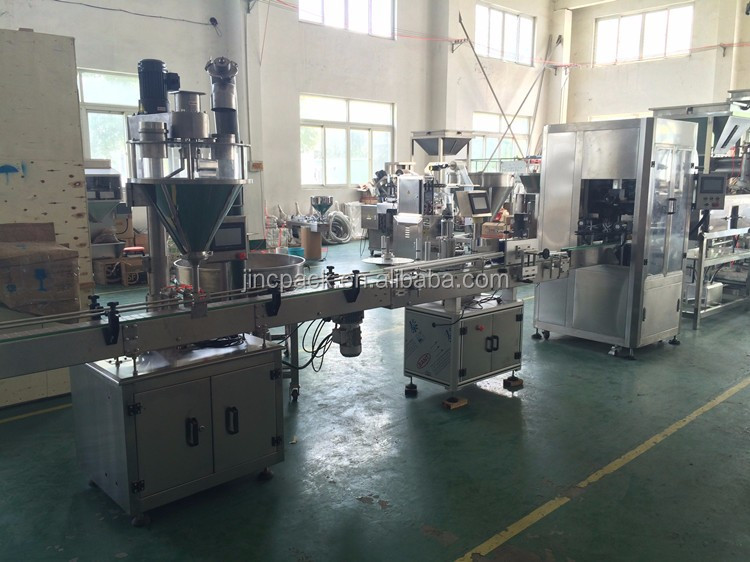 Automatic milk powder production line filling machine