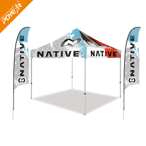 2018 New Products Cheap Aluminium Frame Custom Printed Large Canopy Tent