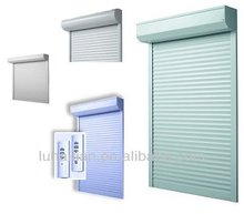 Electric automatic anti-hurricane& anti-theft exterior aluminum roller shutter window