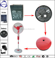 16inch/18inch ac/dc 12v battery China rechargeable fan in bangladesh