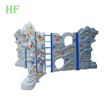 China modular climbing wall manufacture children's outdoor equipment kindergarten