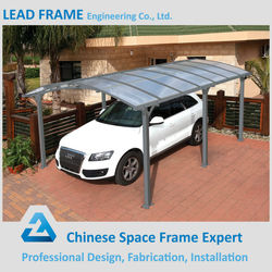Low Cost Prefab Metal Car Shed Design