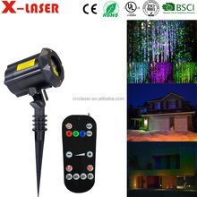 Cast Aluminium Laser Christmas Light with RF Wireless Remote Contol,Laser Star Projector show for Halloween, Christmas,Party