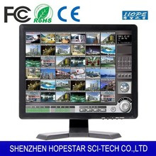 "monitor 19"" inch lcd cctv monitor with bnc rca input"