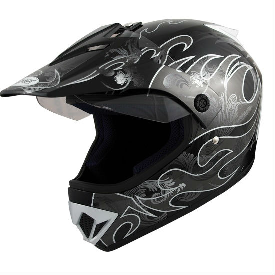 "Roemer ""MX"" Motorcycle Helmet for MX / Motocross / Enduro"