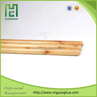 Household cleaning tool: 120x2.2CM varnished wooden broom handle