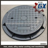 EN124 Standard anti theft manhole cover