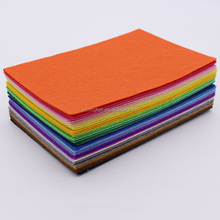 Non woven polyester embroidery needle felt for diy made in china