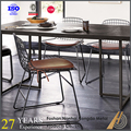 simple design metal dining chair