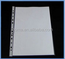 Hot sell pp file cover decoration