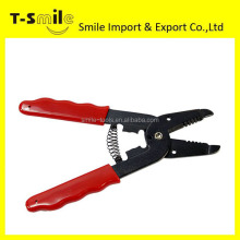 Pliers Carbon Steel PVC Handle Insulated Black Finish Cable Wire Stripper Cutters