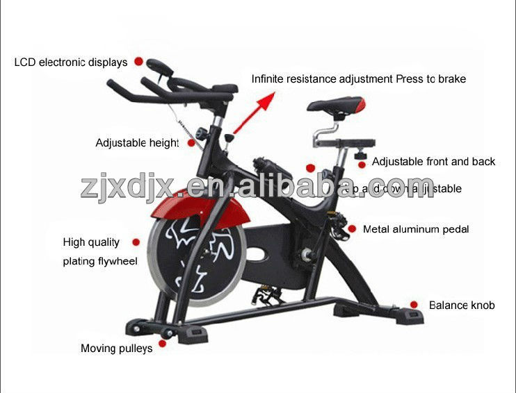 luxury competition fitness exercise bike