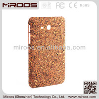 custom cork leather pu case for galaxy tab 3.8 inch