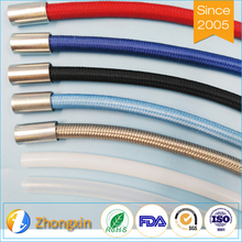 China Supply Good Corrosion Resistance Glass Fiber Braiding Nylon Covered Wire Braided Hose Pipe