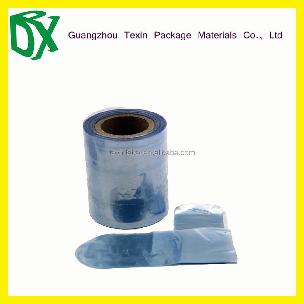 TEXIN High quality PVC shrink flim customized hot blue print film