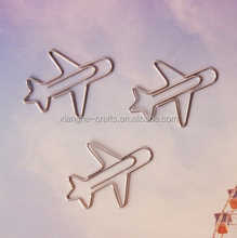 airplane shaped paper clips