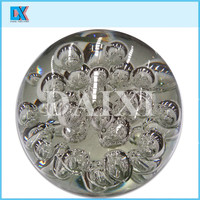 wholesale home decorative colored crystal glass ball