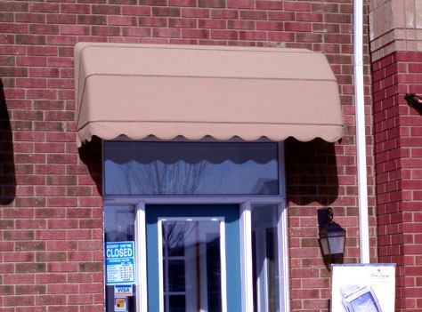 French Style Rain Protection Awnings Pattern for Windows