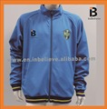2017/2018 hot sale polyester spandex blue jacket