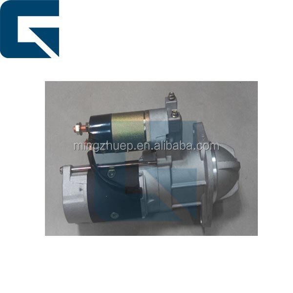 PC120-5 starter Motor, PC120-5 Starting Motor Excavator diesel engine spare parts