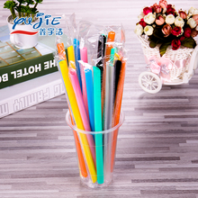 Wholesale cheap colourful disposable plastic drinking straw