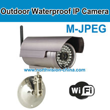 IP video camera,36pcs LED lights,M-JPEG,with factory price