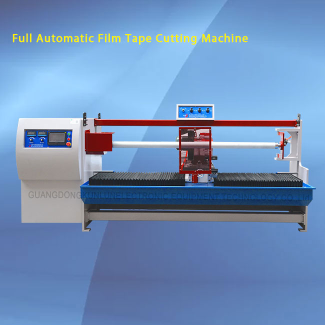 Kunlun PVC roll tape cutting machine / insulate tape cutting machine