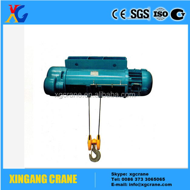 Factory Price Electric Wire Rope Hoist 5 Ton Lifting Height 9m Equipped With Double Girder Overhead Crane
